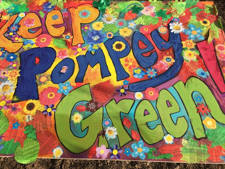 Artwork of Keep Pompey Green