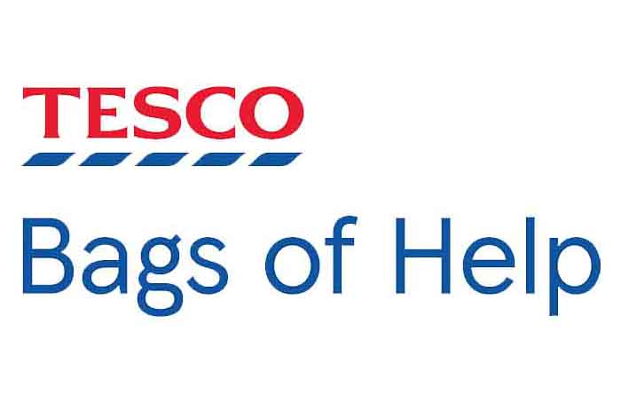 Tesco's Bags of Help logo