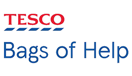 Tesco Bags of Help logo and link