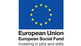 European Social Fund logo and libk