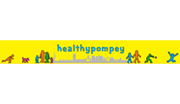 Healthy Pompey Logo and Link